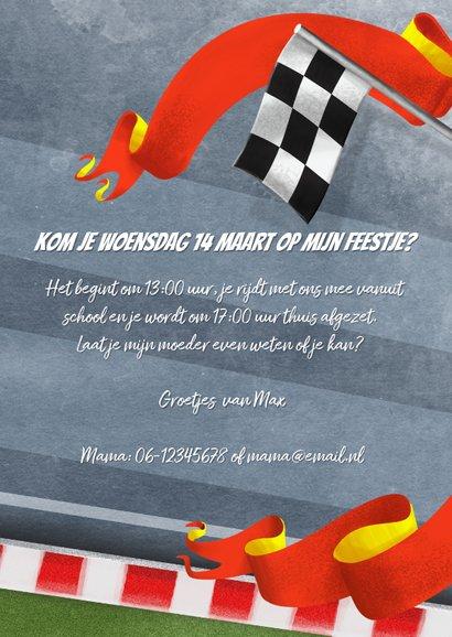 Uitnodiging 8 jaar racebaan 3
