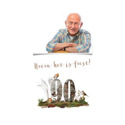 Uitnodiging 90 jaar natuur herfst bos 2