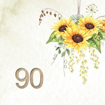 Uitnodiging 90 jaar zonnebloemen 2