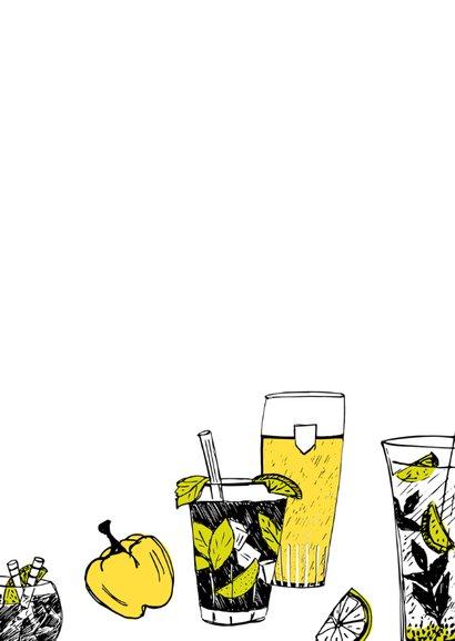 Uitnodiging BBQ tekeningen  3