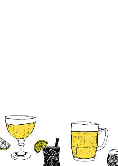 Uitnodiging bier en cocktails 2
