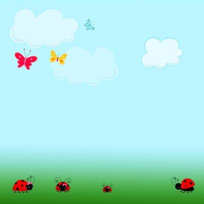 Uitnodiging bloemen-beestjes 2