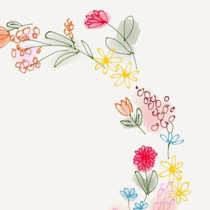 Uitnodiging Bloemenkrans 3