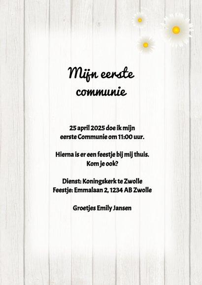 Uitnodiging Communie - DH 3