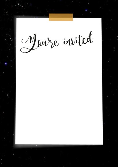 Uitnodiging feest - BF 3
