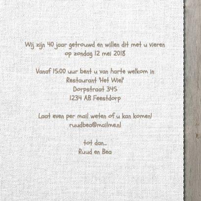 Uitnodiging feest hout en Linnen 3
