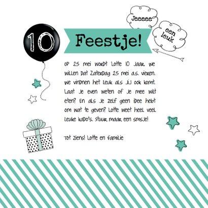 Uitnodiging Feestje Verjaardag 3