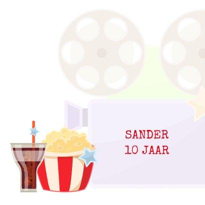Uitnodiging filmfeestje  2