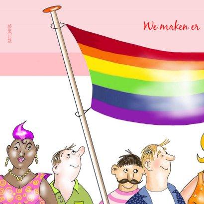 Uitnodiging Gay Pride Amsterdam 2