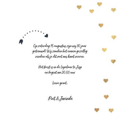 Uitnodiging huwelijksjubileum 30 jaar 3