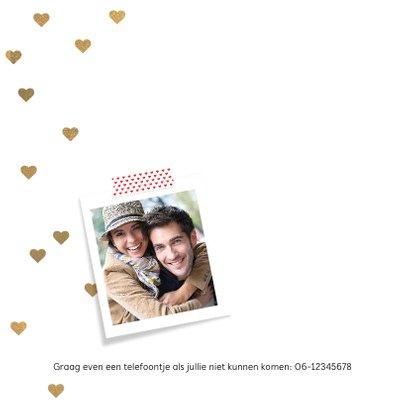 Uitnodiging jubileum huwelijk ballon 10 2