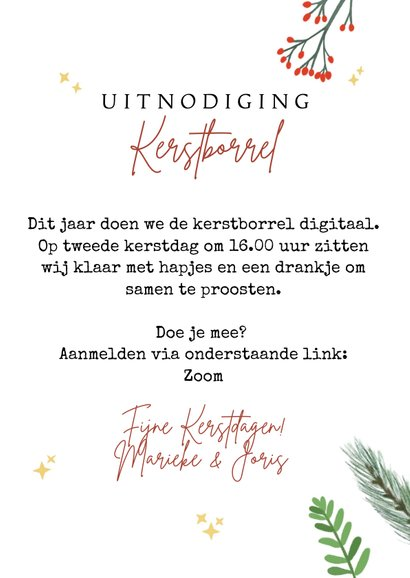 Uitnodiging kerstborrel digitaal  3