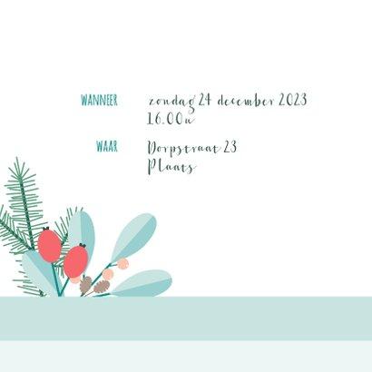 Uitnodiging kerstdiner botanisch 2