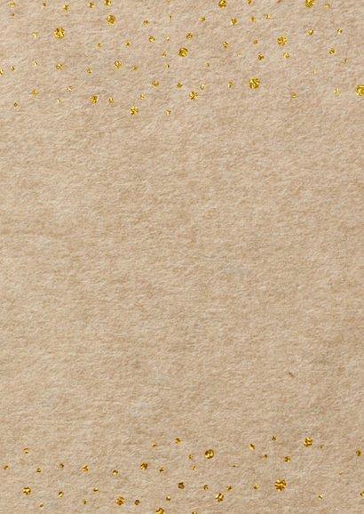 Uitnodiging kraft goud - LO 3