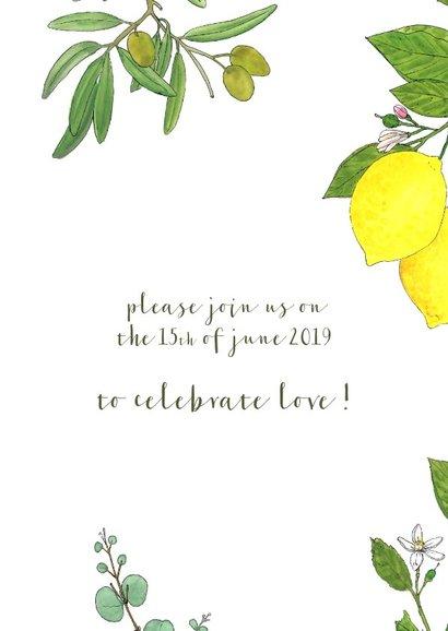 Uitnodiging mediterraanse zon 3