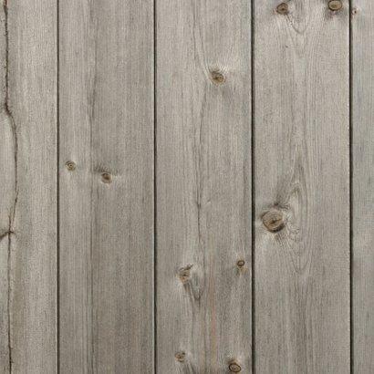 Uitnodiging openingskaart met hout design Achterkant