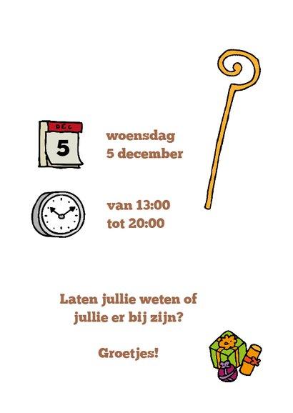 Uitnodiging Sinterklaas Kaartlezen 3