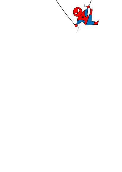 Uitnodiging spiderman feest jongen 3d 2