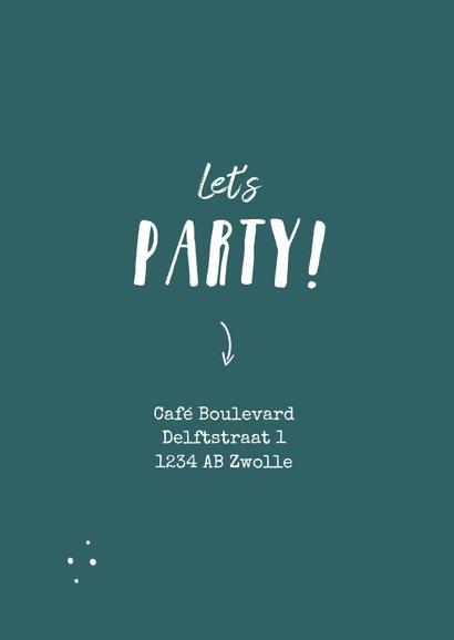 Uitnodiging surprise party humor ouder worden 2