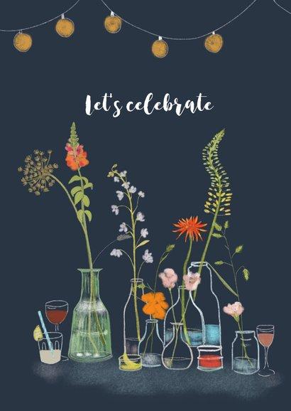 Uitnodiging tuinfeest Flowers & Drinks 2
