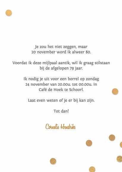 Gedicht 80 Jaar Verjaardag