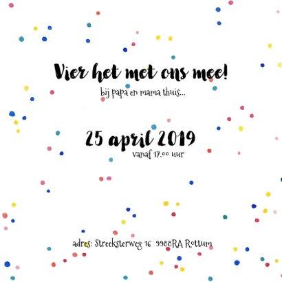 Uitnodiging verjaardag opa feest 3