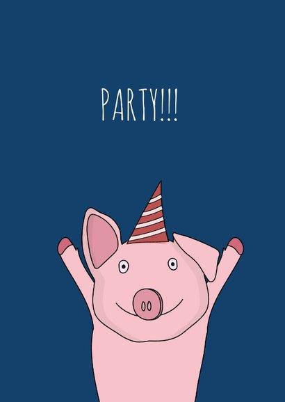 Uitnodiging voor een Big Big Party! 2