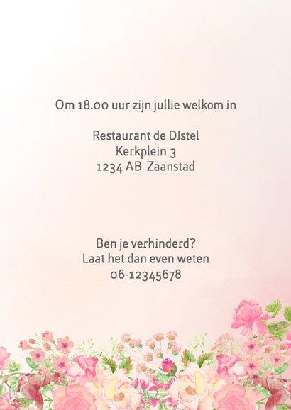 Uitnodiging vrouw verjaardag 3