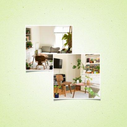 Umzugskarte Holzschilder und Fotos 2