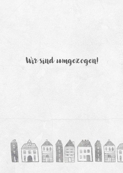 Umzugskarte Kleine Stadt 2