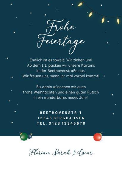 Umzugskarte Weihnachsbaum & Karton 3
