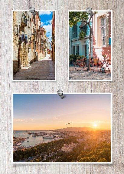 Urlaubskarte Holzlook mit eigenen Fotos 2