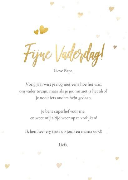 Vaderdag fotokaart voor de eerste vaderdag ik vind je lief 3