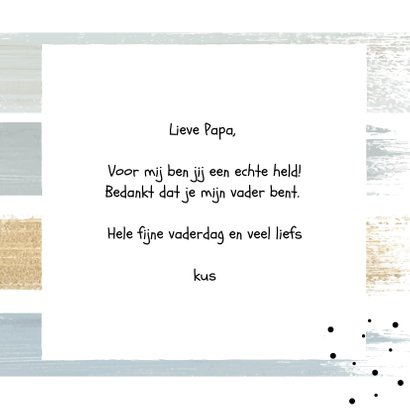 Vaderdag , Super dad!  3