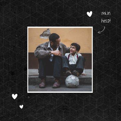 Vaderdagkaart liefste PAPA met foto grafisch 2