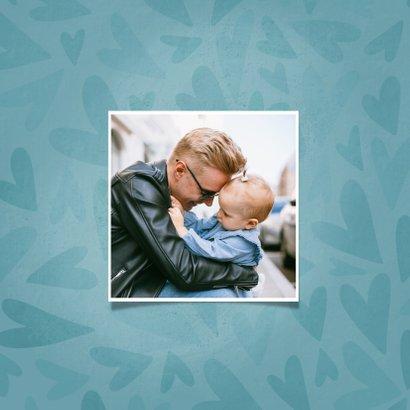 Vaderdagkaart met hartjes de liefste PAPA dat ben jij 2