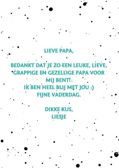Vaderdagkaart papa staat op nr.1 3
