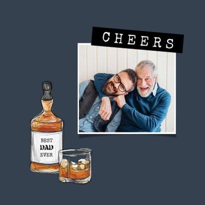 Vaderdagkaart stoer whiskey opa vader chill 2