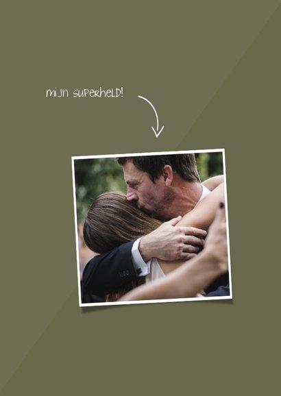 Vaderdagkaart 'super bonus papa' aanpasbare kleur 2