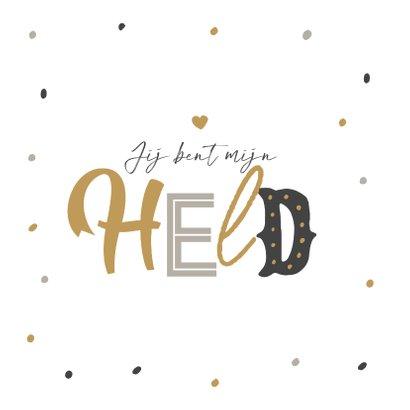 Vaderdagkaart super papa confetti typografie 2