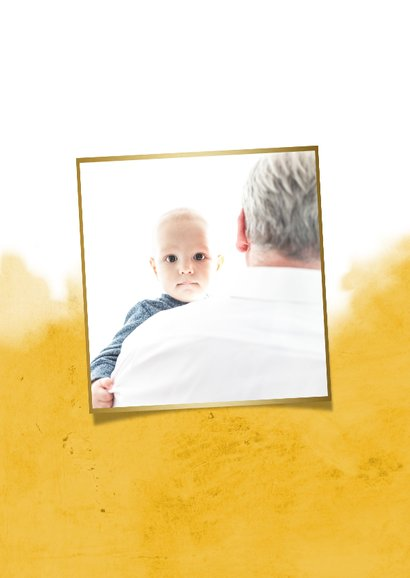 Vaderdagkaart voor de liefste papa en opa met hartje 2