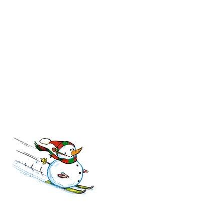 Vakantie wintersport strip ski piste  2