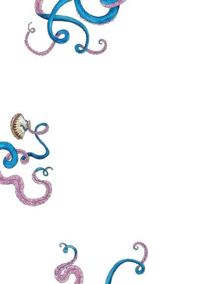 Vakantiekaart Tattood Octopus 2