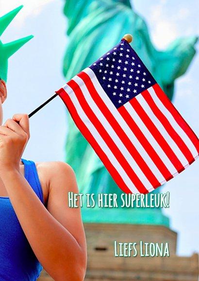 Vakantiekaart USA - New York - SG 3