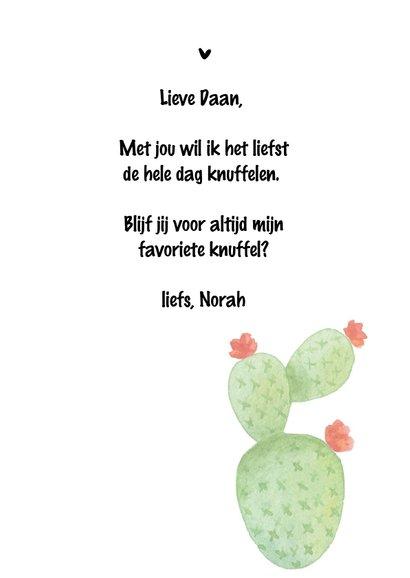 Valentijn. Cactus , I need a Hug  3