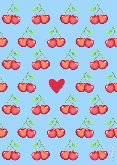 Valentijn Cherish you kaart 2