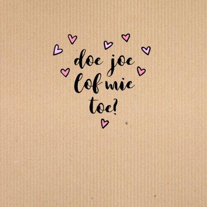 Valentijn ei lof joe 3