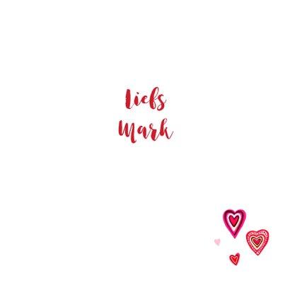 Valentijn gekleurde hartjes 3