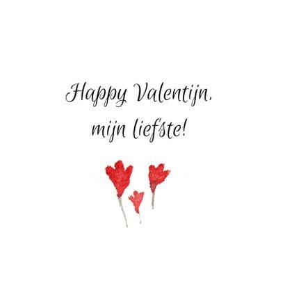 Valentijn, geschilderd hartje 3