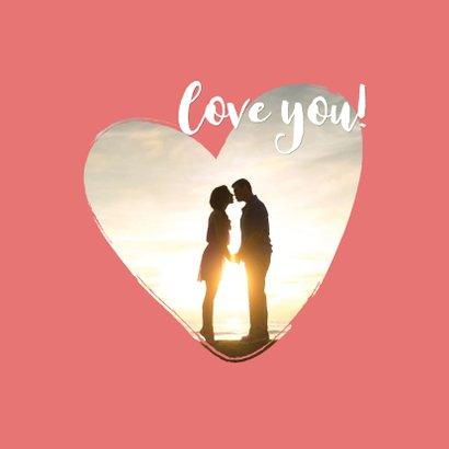 Valentijn - happy valentine met foto 2